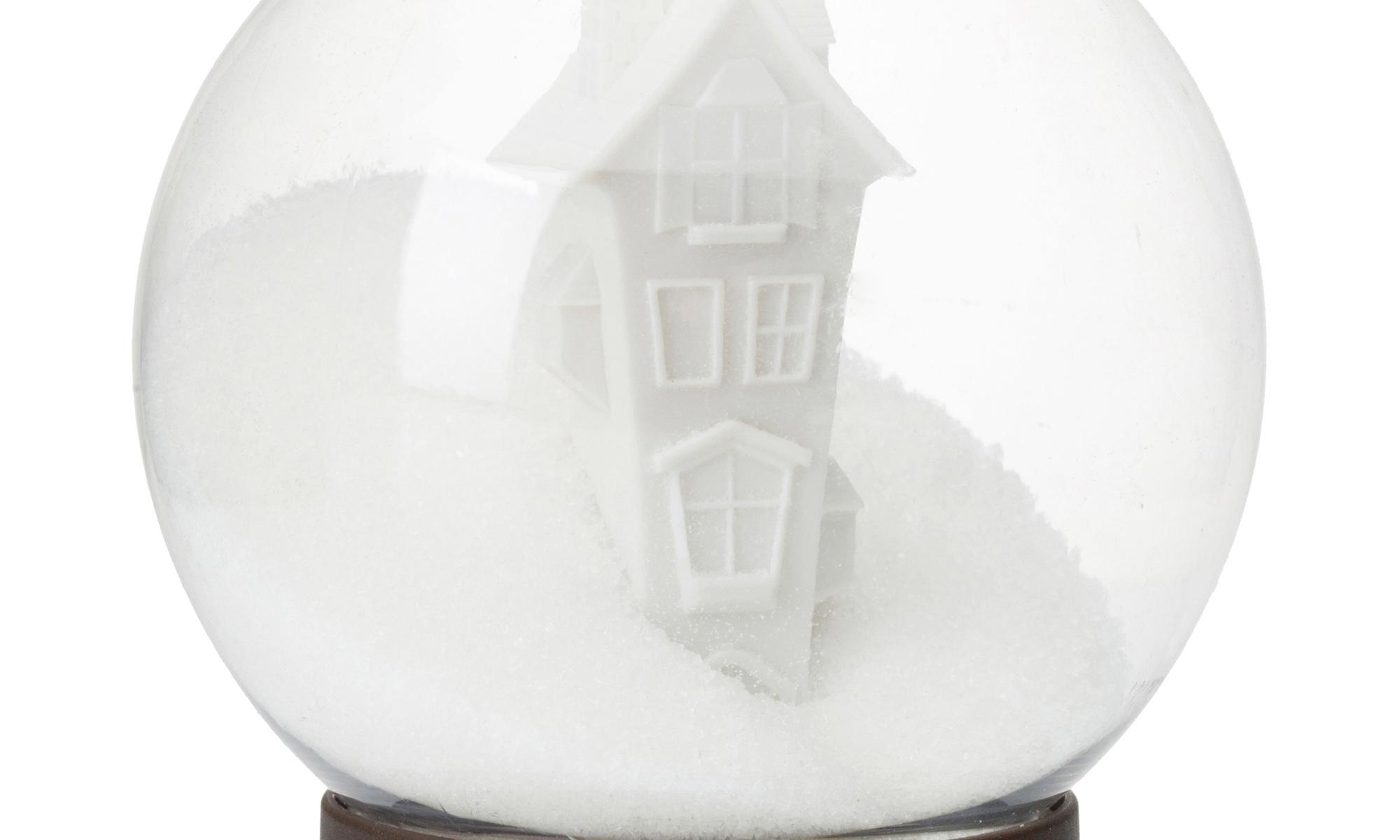 Cadeau de Noël sucrier boule à neige